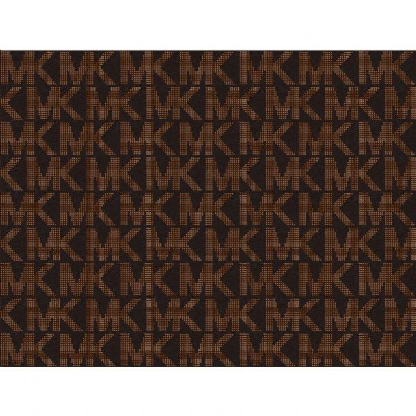 Brown Michael Kors Patterned Icing Sheet